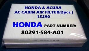 Cabin Air Filter For Honda Accord Acura 3 2cl 3 2tl Great Fit Us Seller