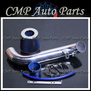 Blue Air Intake Kit Fit 1995 1999 Eclipse 2 0l Rs Gs Non turbo Nt