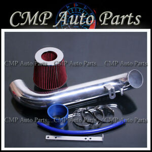 Blue Red Air Intake Kit Fit 1995 1999 Eclipse 2 0l Rs Gs Non Turbo Nt