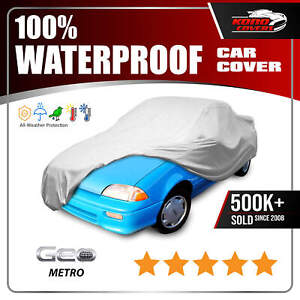 Geo Metro Convertible 6 Layer Waterproof Car Cover 1990 1991 1992 1993