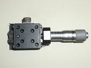 Deltron Miniature Micrometer Positioning Stage