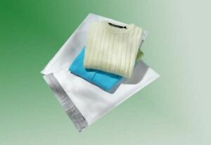 50 9 X 12 White Poly Mailers no Bubble