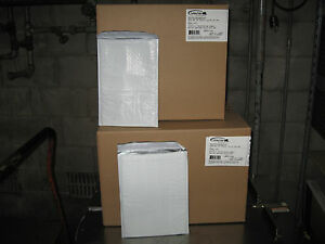 200 Xpak White Poly Bubble Mailer Combo Pack 100 1 100 2 Ships Free
