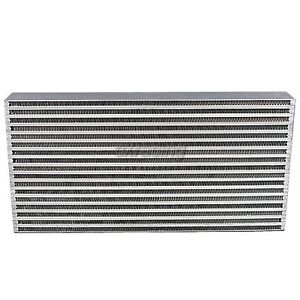 Cxracing Universal Intercooler 4 Thickness Core For Civic B16 300zx Jetta Crx