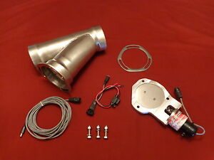 Electric Exhaust Cutout Badlanzhpe Ss Cutouts 3 5 89mm 5 Year Warranty