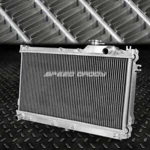 2 Row Dual Core Bolt On Full Aluminum Racing Radiator Jdm 90 97 Mazda Miata Mx5