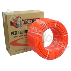 1 2 X 1000 Ft Pex Tubing Piping O2 Oxy Oxygen Barrier Radiant Heat Heating Nsf