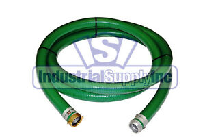 2 X 20 Green Pvc Pin Lug Suction Hose Trash Pump fs