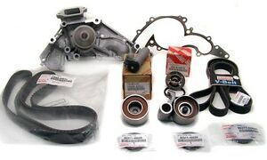 Genuine Oe Manufacture Parts Timing Belt Water Pump Kit Tundra Truck 4 7 V8