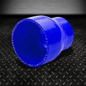 2 5 To 3 3 ply Straight Turbo intake Piping Silicone Coupler Reducer Hose Blue