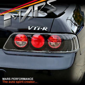 Jdm Black Altezza Tail Lights For Honda Prelude Coupe 97 01 Vti r Atts Si