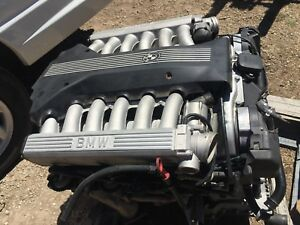 1998 Bmw E38 V12 Engine Motor 750il 750 850ci 850i 850 167k Miles Runs Smooth
