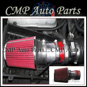 Red 1999 2006 Chevy Silverado 1500 4 3l 4 8 5 3l 6 0 Air Intake Kit Systems