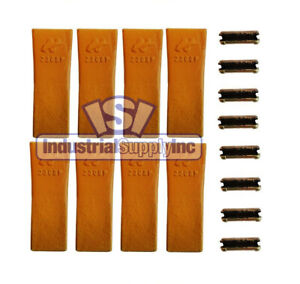 Bucket Tooth Standard H l Style With Flex Pin 230sp 8 Pack