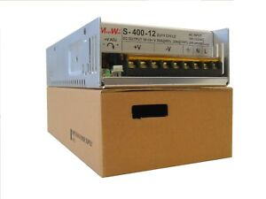 400 Watt 9 15 Dc Volts Adjustable 36 Amp Power Supply 40a Real Megawatt 12 V