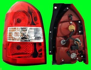 Rear Left Tail Light With Bulb Fits Hyundai Tucson 2005 2006 2007 2008 2009
