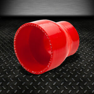 2 3 3 ply Straight Turbo intake Piping Silicone Coupler Reducer Hose pipe Red