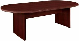 New Amber 8 Racetrack Office Conference Table For Boardroom Meeting Room