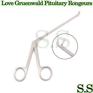 Love Gruenwald Pituitary Rongeurs 6 Up Angled Neuro Surgical Instruments