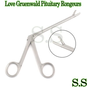 Love Gruenwald Pituitary Rongeurs 5 Straight Neuro Surgical Instruments