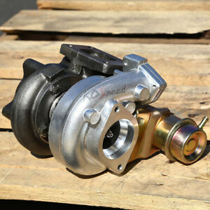 For T25 T28 Turbo Charger Turbocharger Top Mount A R 42 Boost Internal Wastegate