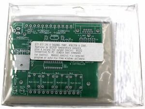 4 Channel Temperature Monitor Controller Kit Kit_190