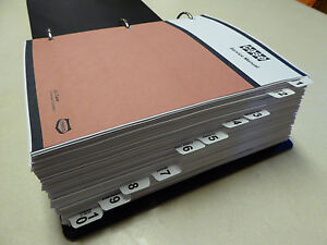 Case 1270 1370 Tractor Service Manual Repair Shop Book New With Binder