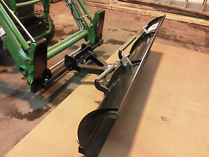 John Deer Tractor Snow Plow Fits Johndeer Jdqa Front Loaders