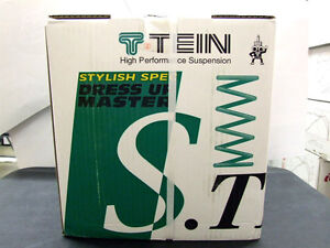Tein S Tech Lowering Springs 03 05 Honda Civic Si Ep3