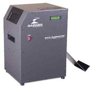 Hd 3wxl Continuous Duty Hard Drive Degausser new Machine With Free Shipping Case