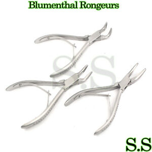 Blumenthal Rongeurs 6 Set Of 3 30 45 90 Angle