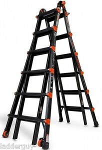 26 1a Little Giant Ladder Pro Series With Wall Standoff New