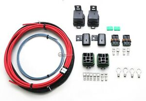 Quantum Dual Fuel Pump Hotwire Kit Includes Sealed Relays Wiring Fuses Terminals