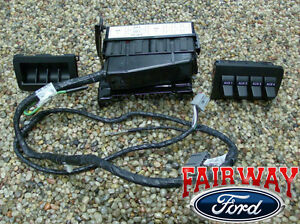 2008 2009 Super Duty F250 F350 F450 F550 Oem Ford In Dash Upfitter Switch Kit
