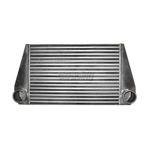 24 x12 x3 5 Fmic V mount Turbo 2 5 Inlet Outlet Intercooler For Rx7 Rx 7