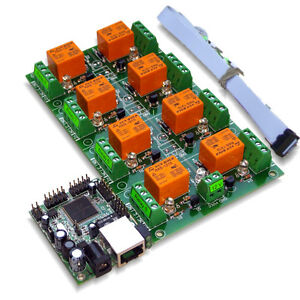 Ethernet Internet 8 Channel Relay Board Ip Snmp Windows Android Software