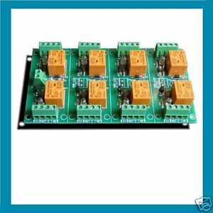 Eight Relay Board Card Pc Lpt Printer Parallel Port