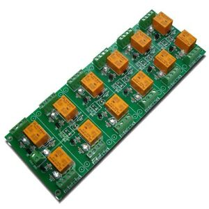 12 Relay Module Board 12v For Arduino Pic Arm Avr Dsp Plc