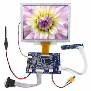 Vga Av Tft Driver Board 8inch Tft At080tn52 Tft Lcd Display 8 tft 800x600 Lcd