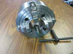8 4 jaw Lathe Chuck With Independent Jaws 0804f0 New