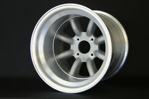 Rs watanabe 8spoke 15x12 51 Offset Ae86 240z 240sx Supra Wide Body