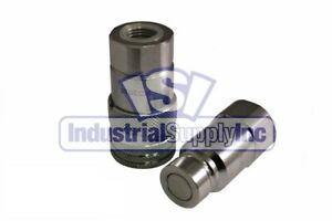 Quick Coupler Iso 16028 Flat Face 3 8 Female Pipe Threads Stucchi