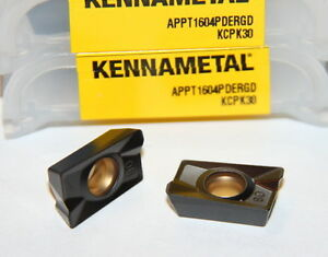 Appt 1604pdergd Kcpk30 Kennametal 10 Inserts Factory Pack
