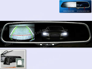 Auto Dim Rearview Mirror With 3 5 Display Fits Ford Gm Toyota Nissan Honda Etc
