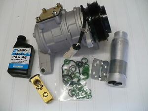 1996 2000 Dodge Grand Caravan 3 3l New A C Ac Compressor Kit