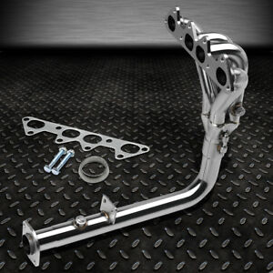 For 94 97 Honda Accord F22 Cd5 Cd7 4 1 Stainless Racing Header Manifold Exhaust