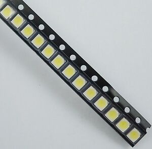 2000pcs New 1210 Smd Smt White Led Lamp Light 700mcd