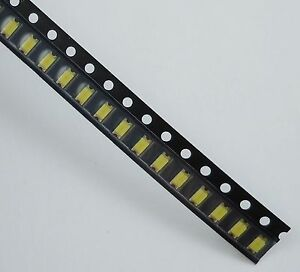 3000pcs New 1206 Smd Smt White Led Lamp Light 500mcd