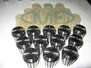 Er32 Collet Set 1 16 Up To 3 4 By 1 16th 12 Common Sizes er32 set12 new