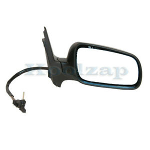 Vw Jetta Golf Manual Remote Non heat Fold Rear View Mirror Right Passenger Side
